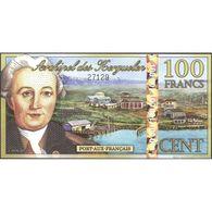 TWN - KERGUELEN ISLANDS (private Issue) - 100 Francs 1.6.2012 POLYMER UNC - Non Classificati