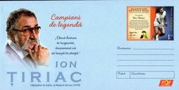 Romania / Postal Stationery / Ion Tiriac - Tennis