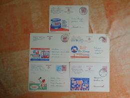 Lot De 5 Entiers Postaux Publibel (i8) - Entiers Postaux