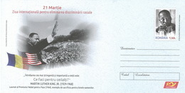 Romania / Postal Stationery / - Martin Luther King