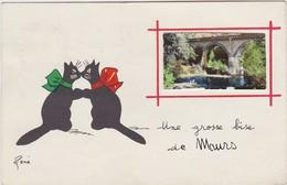 UNE GROSSE BISE DE MAURS ( CHAT NOIR RENE ) - Unclassified