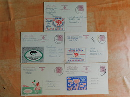 Lot De 5 Entiers Postaux Publibel (K8) - Stamped Stationery