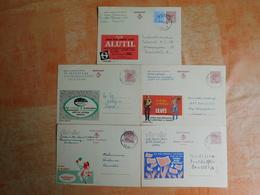Lot De 5 Entiers Postaux Publibel (K8) - Entiers Postaux