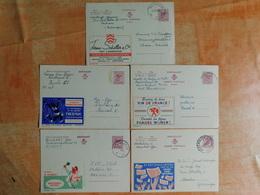 Lot De 5 Entiers Postaux Publibel (K8) - Postwaardestukken