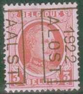 OCB 192/ OCVB 2953  AALST 1922 ALOST    B - Roulettes 1920-29