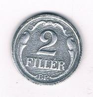 2 FILLER 1943  HONGARIJE /5327/ - Hongrie