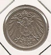 GERMANY ALLEMAGNE ALEMANHA 5 PFENNIG 1907 G 245 - [ 6] 1949-1990 : GDR - German Dem. Rep.