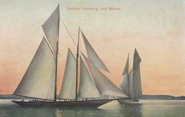 """Yachts """"Hamburg"""" Und """"Meteor"""" , 00-10s - Sailing Vessels"""