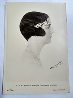 ITALIE - Anna Di Francia ( Anne D'Orléans) - Duchessa D Aoste - Vice Reine D Ethiopie - TBE - Familles Royales