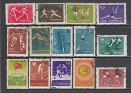 USSR 1956 - Spartakiade, Mi-Nr. 1849A/62A, Used - 1923-1991 USSR