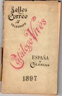 Catalogue Espagne Et Colonies - Sellos Der Correo - Télégrafo - 1897 - Philatelie Und Postgeschichte