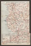 CARTE PLAN 1932 N° 1069 - NORMANDIE - COUTANCES GRANVILLE AVRANCHES MONT St MICHEL VILLEDIEU Les POELES - Cartes Topographiques