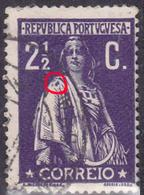 PORTUGAL 2 1/2C Ceres - N/C Cliche - - VFU No Faults - Variétés Et Curiosités