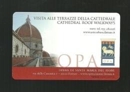 Biglietto Di Ingresso - Terrazze Cattedrale  Firenze - Biglietti D'ingresso