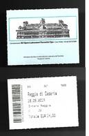 Biglietto Di Ingresso Beni E Attività Culturali - Reggia Di Caserta 02 - Biglietti D'ingresso