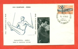 GINNASTICA -OLIMPIADI ROMA 1960 MEDAGLIA ORO  ASARYAN - Gymnastik