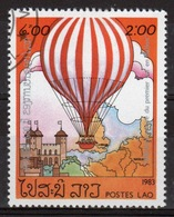 Laos 1983 Single 2k Stamp From The Bi-centenary Of Manned Flight Set. - Laos