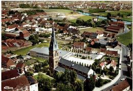 KUURNE - Luchtopname - Panorama  - Echte Foto - Uitg. St Michiels Drukkerij - Kuurne