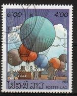 Laos 1983 Single 4k Stamp From The Bi-centenary Of Manned Flight Set. - Laos