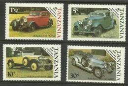 Tanzania - 1986 Motoring Centenary MLH *  SG 456-9 - Tanzania (1964-...)