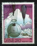 Laos 1983 Single 10k Stamp From The Bi-centenary Of Manned Flight Set. - Laos