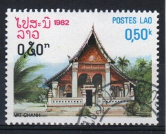 Laos 1982 Single 50c Stamp From The Pagoda Set. - Laos