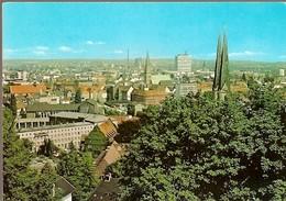 Germany & Circulated, Bielefeld, Blick Von Der Sparrenburg Auf Die Stadt, Restaurant Sparrenburg, Warstein 1971 (4800) - Germania