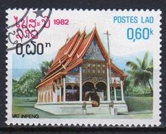 Laos 1982 Single 60c Stamp From The Pagoda Set. - Laos