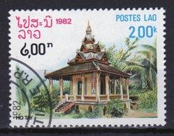 Laos 1982 Single 2k Stamp From The Pagoda Set. - Laos