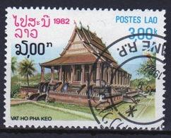 Laos 1982 Single 3k Stamp From The Pagoda Set. - Laos
