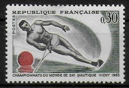 FRANCE  N° 1395  * *  Ski Nautique - Ski Nautique