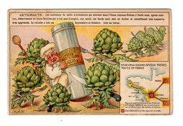 Chromo  France Gastronomique, Amieux, Artichauts - Autres