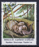 Laos 1982 Single 4k Stamp From The Indian Elephant Set. - Laos
