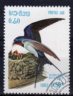 Laos 1982 Single 50c Stamp From The Birds Set. - Laos