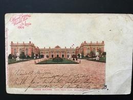 CPA Official Souvenir World 's Fair St Louis 1904 France Building Grand Trianon Versailles Postée De Washington - St Louis – Missouri