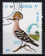 Laos 1982 Single 1k Stamp From The Birds Set. - Laos