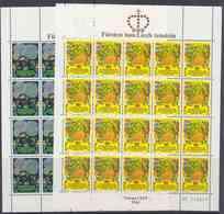 Europa Cept 1981 Liechtenstein 2v 2 Sheetlets ** Mnh (F7880) - 1981
