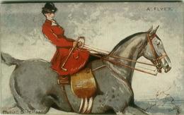 TUCK'S POSTCARD SIGNED PHILIP E. STRETTON - HORSE - HUNTING FOX - A. FLYER. N. 2765 (BG424) - Tuck, Raphael