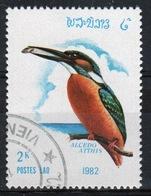 Laos 1982 Single 2k Stamp From The Birds Set. - Laos
