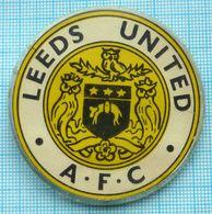USSR / Badge / Soviet Union / Football Club A. F.C LEEDS UNITED.Emblem. Birds. Owl. England 1970-80s - Fútbol