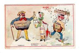 Chromo  France Gastronomique, Aude, Modes M. Larible, Auxerre, Miel.... - Chocolate