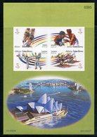 236 - Laos 2000  BF 152 Nd ; Block 181 B **  MNH  Summer Olympics, Sydney - Laos
