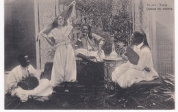 Tunisie -  Danse Du Ventre - Femme - Musiciens - 1909 - Africa