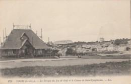 X9-37) TOURS - LE TERRAIN DU JEU DE GOLF ET LE COTEAU DE SAINT SYMPHORIEN - (2 SCANS) - Tours