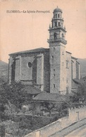 ELORRIO - LA IGLESIA PARROQUIAL ~ AN OLD POSTCARD #94666 - Vizcaya (Bilbao)