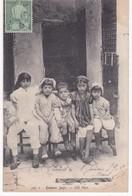 Tunisie - Enfants Juifs -  1909 - Grupo De Niños Y Familias