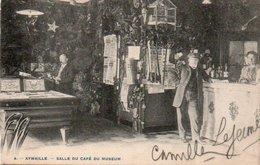 Aywaille  Salle Du Café Du Muséum Animée Circulé En 1905 - Aywaille