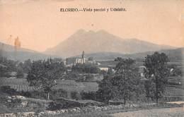 ELORRIO - VISTA PARCIAL Y UDALAITZ ~ AN OLD POSTCARD #94667 - Vizcaya (Bilbao)