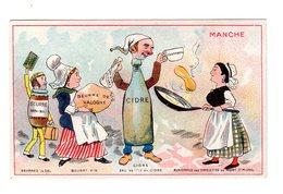 Chromo France Gastronomique, Manche, Cidre, Beurre..., Chocolat Révault - Chocolate
