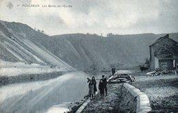 Poulseur  Les Bords De L'ourthe Animée Circulé En 1912 - Comblain-au-Pont